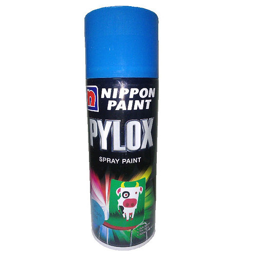 Nippon Paint Pylox Spray Paint 21 Light Sky Blue 400CC