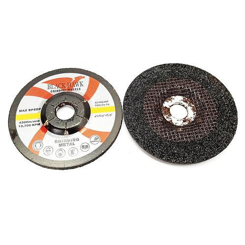 Black Hawk 100X4X16 Metal Grinding Wheels A24Q4BF