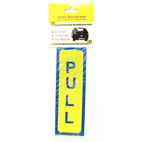 "2""x6"" Pull Label (Blue Wording)"