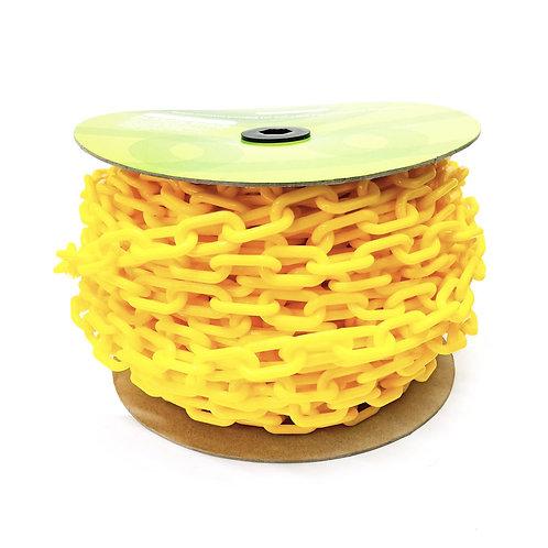 Plastic Chain Yellow 6MMx40M