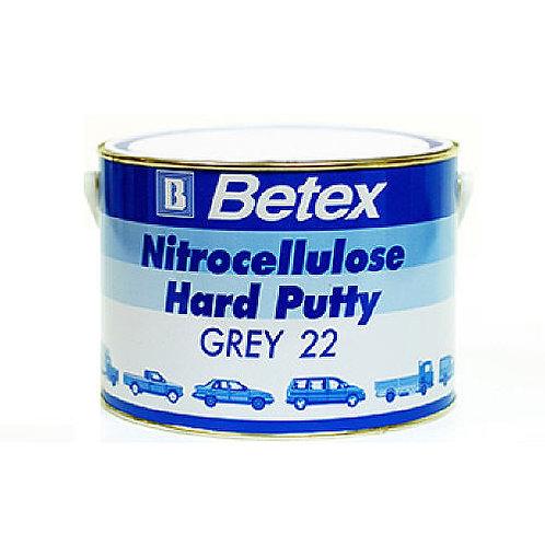 Betex Nitrocellulose Hard Putty Grey 22 3Kg