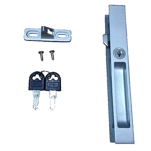 A6 Sliding Door Lock 25MM -NA C/W NA Screw & Key