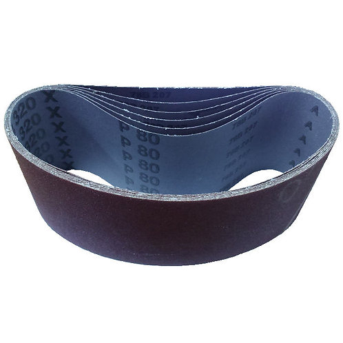 "4""x24"" Grit P80 Cloth Sanding Belts"