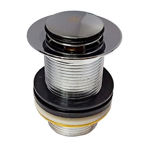 8247-300 1-1/4'' CP Brass Basin Pop-Up Waste