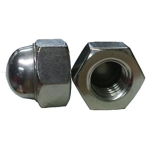 Hex Domed Cap Nut M12 SS A2-304 JIS1183