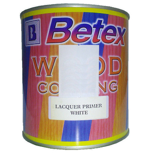 Betex Wood Coating Lacquer Primer White 1L