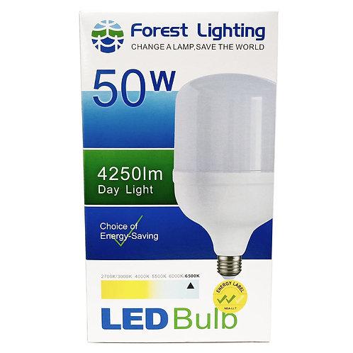 Forest Lighting 50W Led Bulb Day Light E27 4250lm 6500K