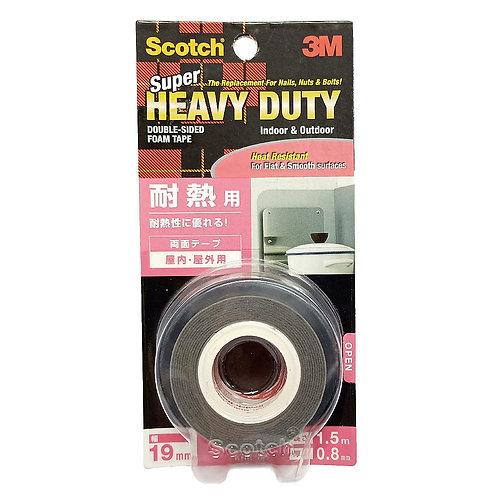 3M Scotch KHR-19 Super Heavy Duty Double-Sided Foam Tape 19mm by 1.5m