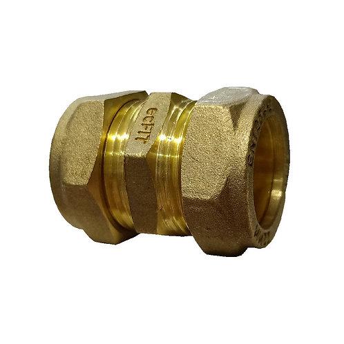 5007 22x22mm Brass CxC Coupler