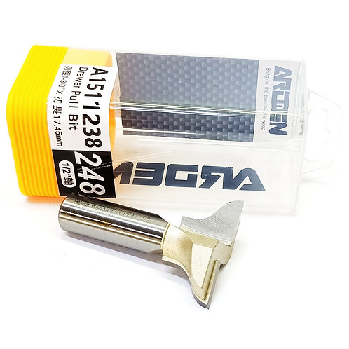 """#248 1/2""""x1-3/8""""x17.45mm Arden Drawer Pull Bit"""