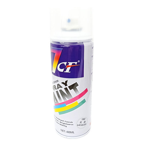 7CF 190 Lacquer Spray Paint 400ml