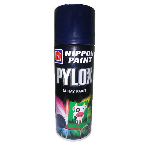Nippon Paint Pylox Spray Paint 49 Deep Blue 400CC
