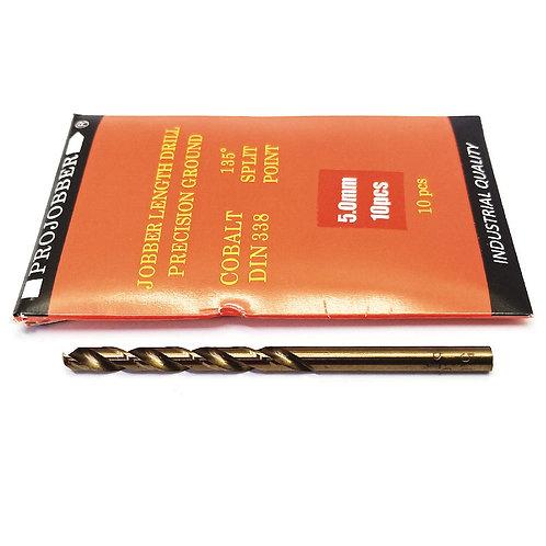 Projobber Cobalt Drill 5.00mm