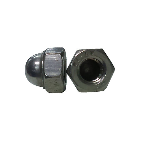 Hex Domed Cap Nut M6 SS A2-304 JIS1183
