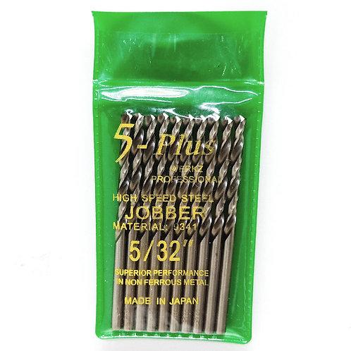 5-Plus Jobber 5/32'' Drill Bit HSS