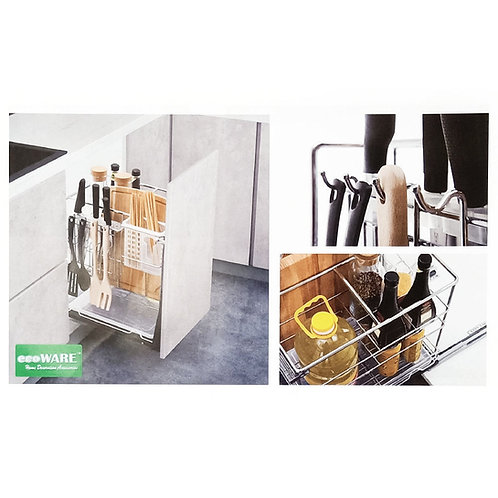 PTJS-023A Multi Function Three Layers Pull Out Basket with Soft Closing Slide 250mm Catalogue