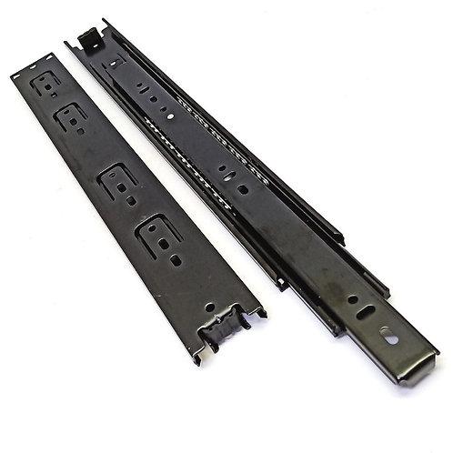 """14"""" (350mm) Black Full Extension Drawer Slide"""