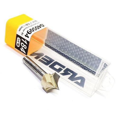 """#184 1/4""""x5/8""""x11.3mm Arden Point Cutting Roundover Bit"""