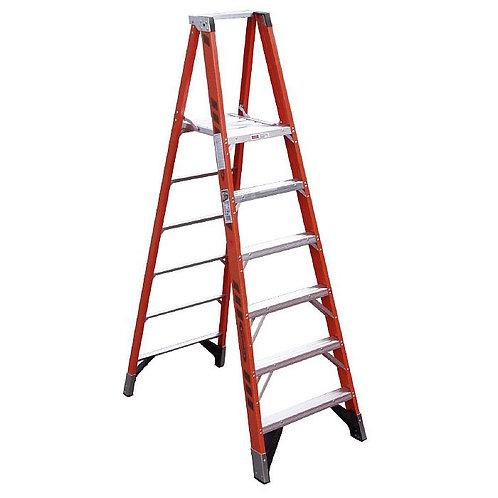 Fiberglass Platform Ladder