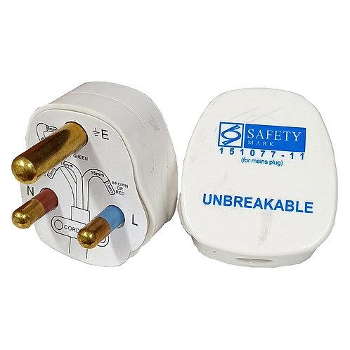 BRITZ 9515 15A Fused Plug Top