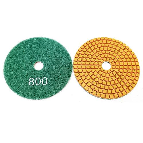 """4"""" #800 Wet Polishing Pads Grade D"""