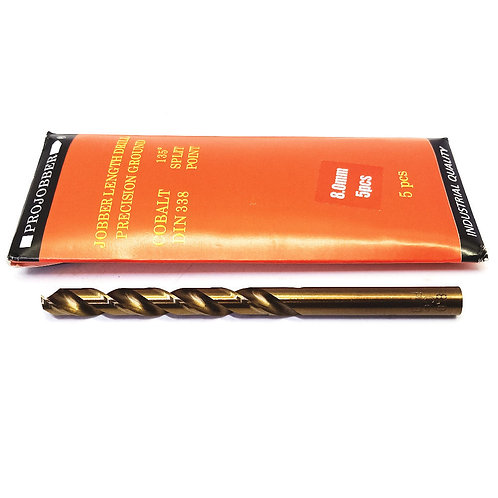 Projobber Cobalt Drill 8.00mm