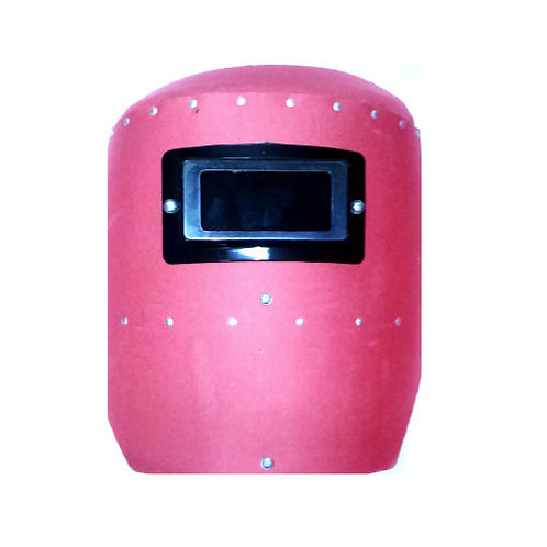 Hand Welding Face Shield Red