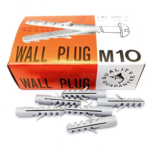 Wall Plug PVC No.S-10 50PCS (Box)