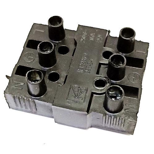 SPINNE EM16 16A Cable Coupler (3 way Plug & Socket) 2PCS