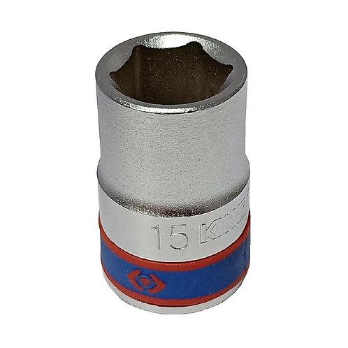 "King Tony 1/2""x15mm 6P Socket 433515M"