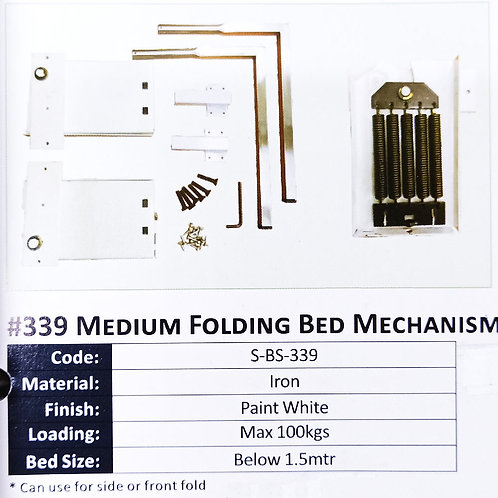 #339 Medium Folding Bed Mechanism