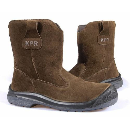 KPR L291 Non-Metallic High Cut Brown Suede Rigger Safety Boots