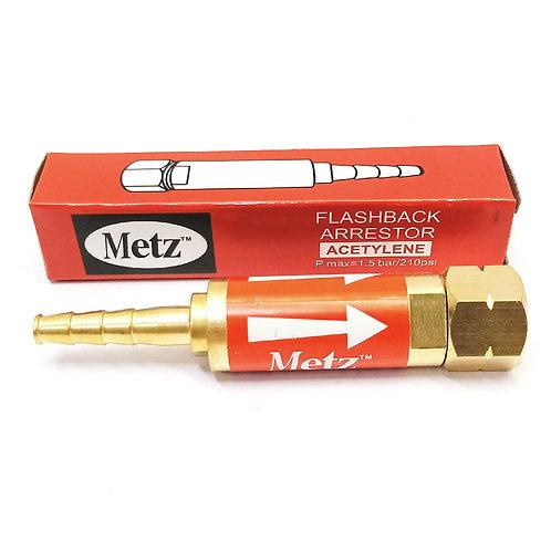 Metz 588 Flashback Arrestor Acetylene Pmax 210psi
