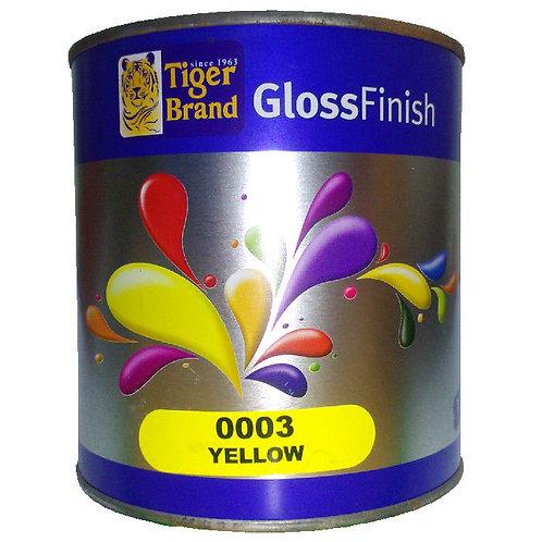 Tiger Brand GlossFinish 0003 Yellow 1L