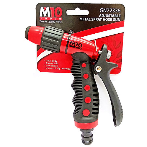 M10 GN72336 Adjustable Metal Spray Hose Gun