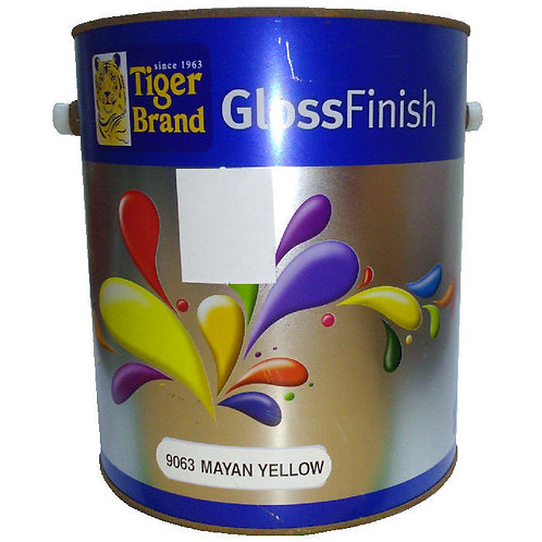 Tiger Brand GlossFinish 9063 Mayan Yellow 3.5L