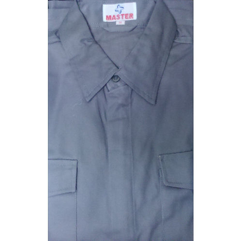 SS Grey Colour Shirt W/O Logo