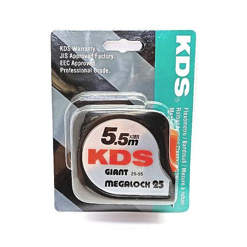 KDS 5.5m 18Ft Measuring Tape 25-55