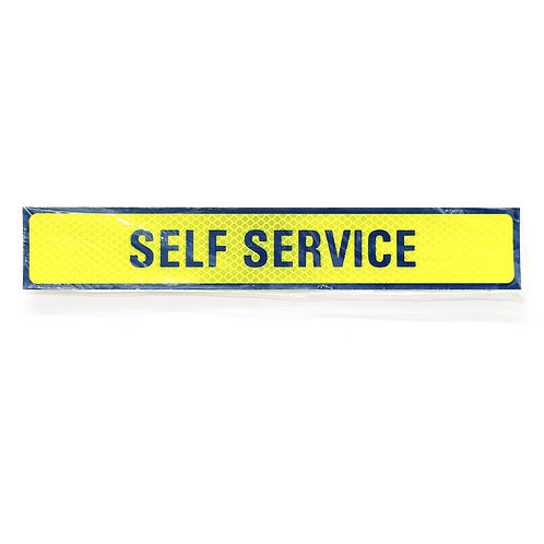 "2""x12"" Self Service Label"