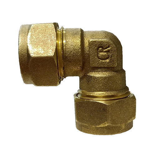 5021 15x15mm Brass CxC Elbow