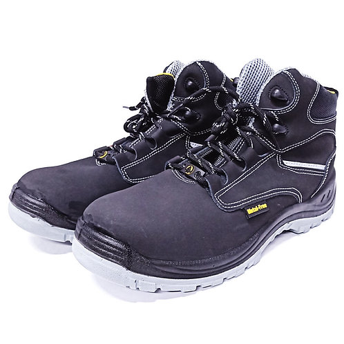 AcesafeT Vanguard (19608B) Mid Cut Lace Up Composite Toe-Cap Anti-Perforation Board Metal-Free ESD Safety Boots (Front)