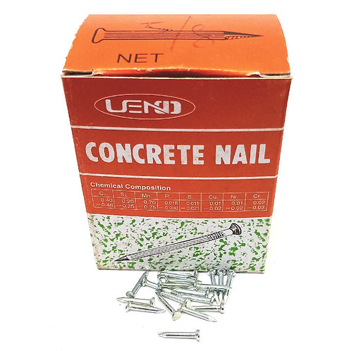 White Concrete Nail 5/8''x14mm (Taiwan)