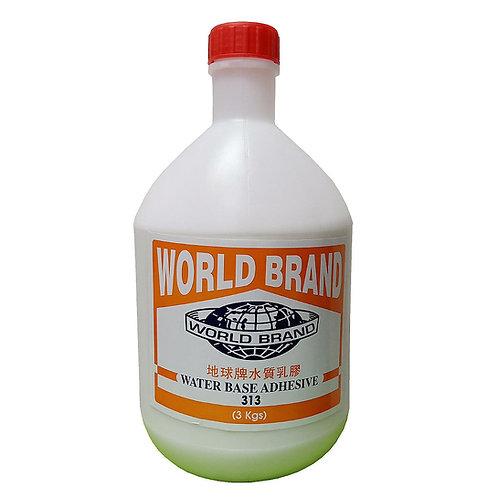 World Brand PVA Water Base Adhesive 313 3KG