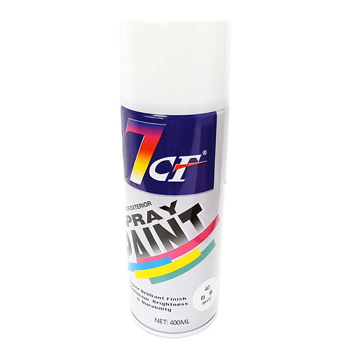 7CF 40 White Spray Paint 400ml