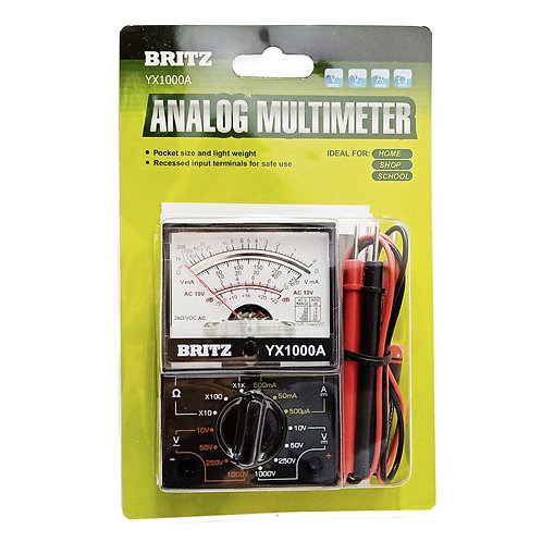 BRITZ YX1000A Analogue Multimeter