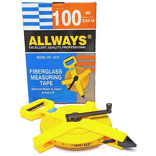 Allways 100m (330') Fiberglass Tape FH-0013 JP