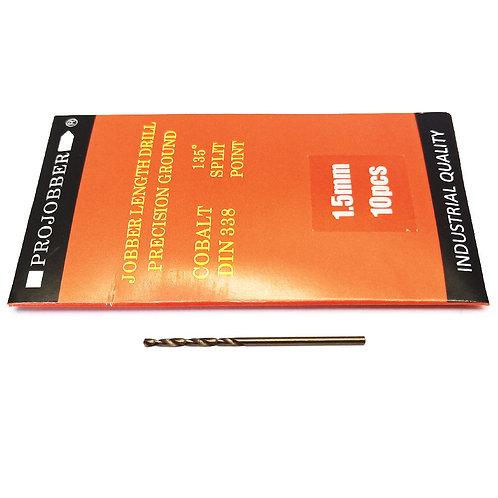 Projobber Cobalt Drill 1.50mm