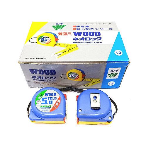5.0mX25mm DF Wood Power Measuring Tape #5025