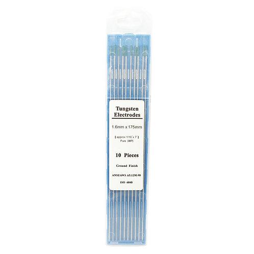 WP AL 1.6MMx175MM Pure Tungsten Electrode