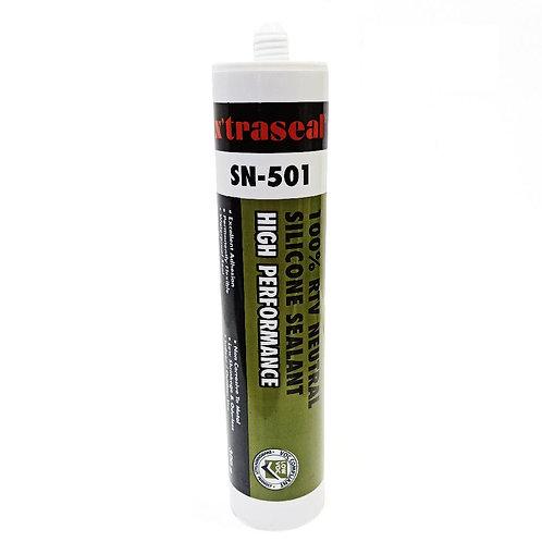 x'traseal SN-501 White Silicone Sealant 300g